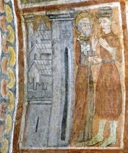 Le prince arrive à Rome où il rencontre St Pierre