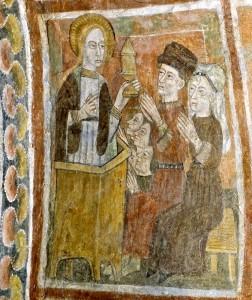 Sainte Marie-Madeleine convertit les princes païens de Marseille