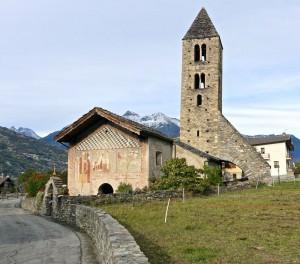 Chapelle Ste Marie-Madeleine, côté Ouest