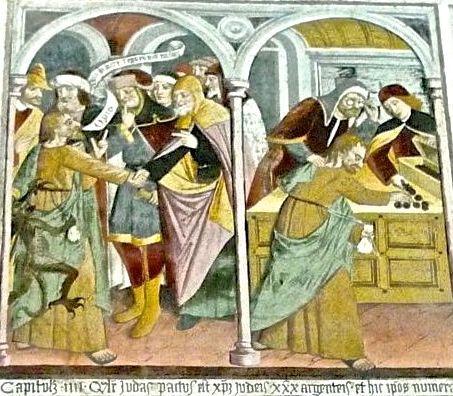 P1340754 IV) tradimento di giuda