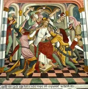 Jésus outragé par les soldats de Pilate