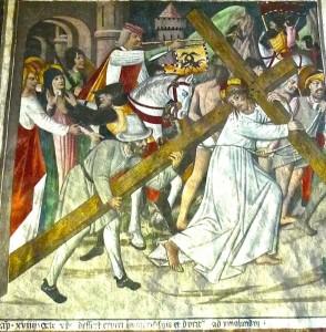 La montée de Jésus au Calvaire