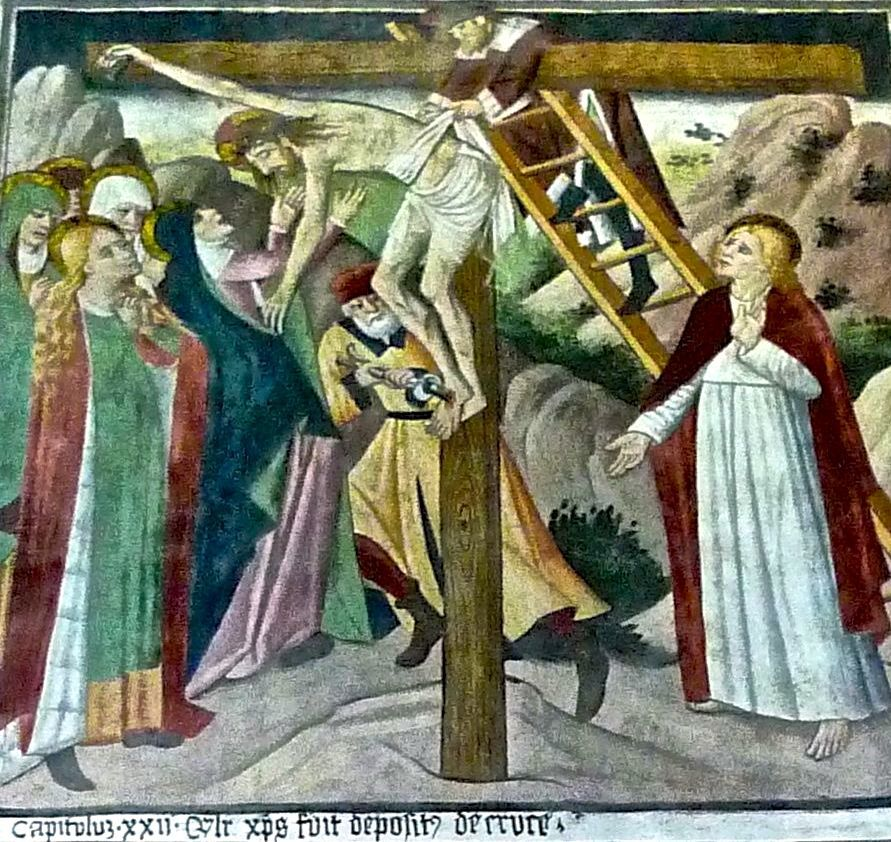 P1340764 XXII) deposizione di gesù dalla croce