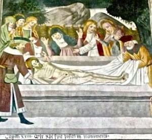 La mise au tombeau de Jésus