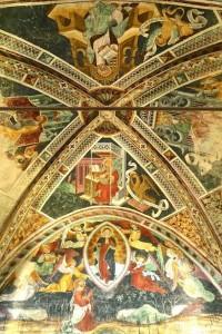 La coupole du choeur et l'Ascension de la Vierge