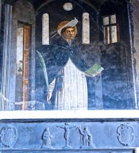 Saint Pierre martyr, Maître de l'Annonciation du Mont (Giovanni Mazzone ?)