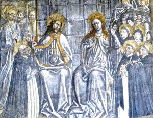 Saint Dominique retrouve au paradis ses moines et moniales, Nicolo' di Lombarduccio dit Nicolo' Corso, fin XV siècle
