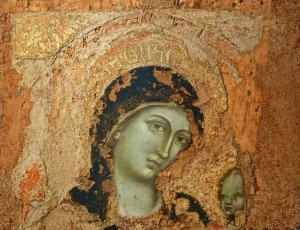 Marie et l'Enfant, Barnaba da Modena, 1375
