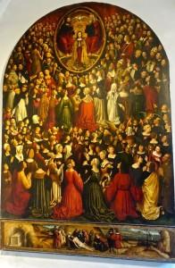Retable de tous les Saints, Ludovic Bréa, Nice, 1500-1513