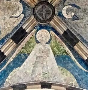 Voûte : Saint Matthieu