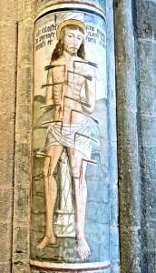 Le martyre de Saint Sébastien, peinture de Secondo del Bosco