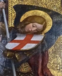 Triptyque, détail : Saint Michel Archange