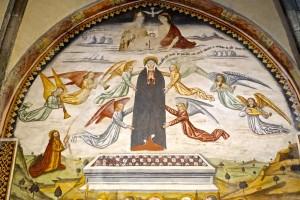 Grande fresque, Ascension de Marie