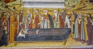 Grande fresque, Mort de Marie