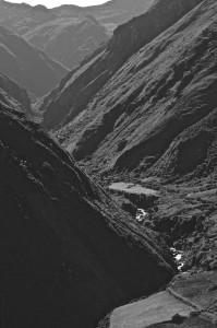Vallée profondément encaissée