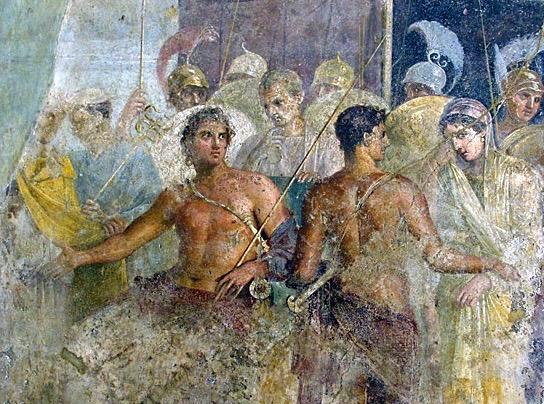 fresque pompéi – copie