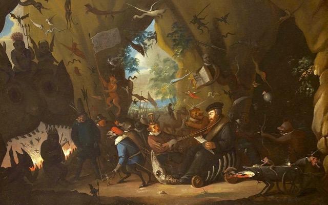 calvin en enfer (egbert van heemskerk II, 1700-10) (2)