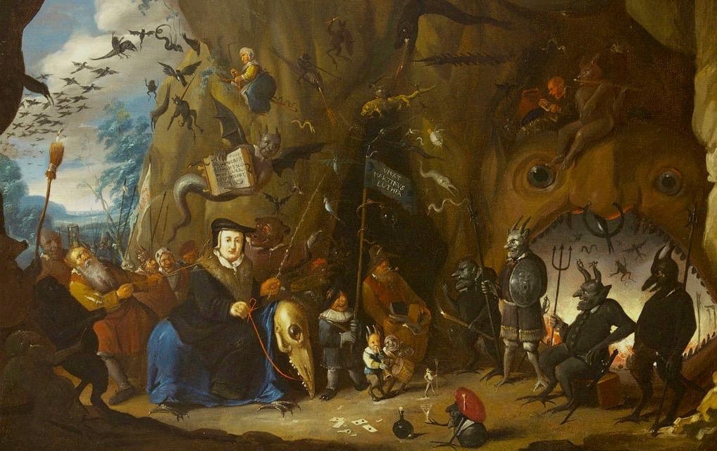 luther en enfer (egbert van heemskerk II, 1700-10) (1)